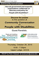 spa community conversations event fall 2015